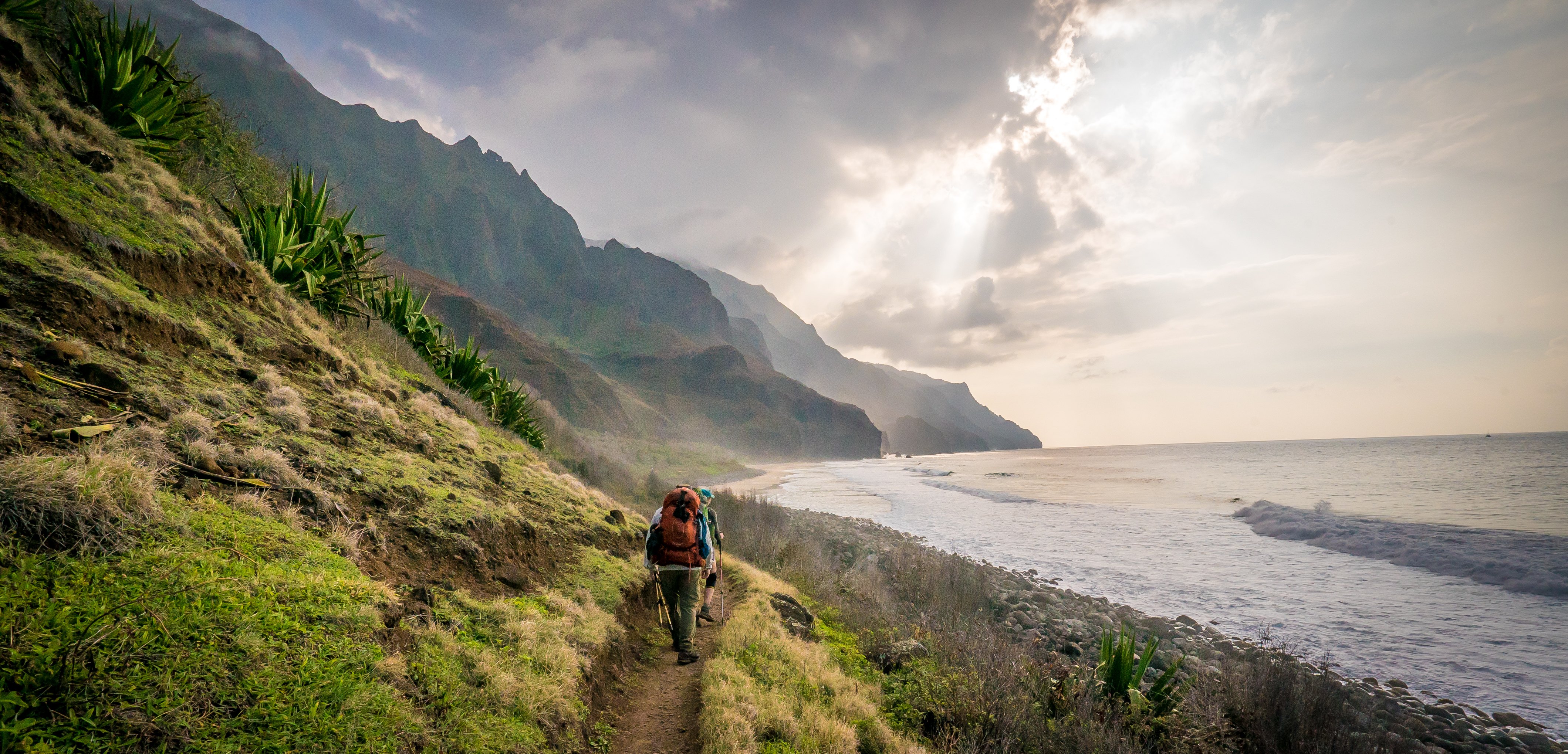 Backpacking Kalalau Trail – the music video