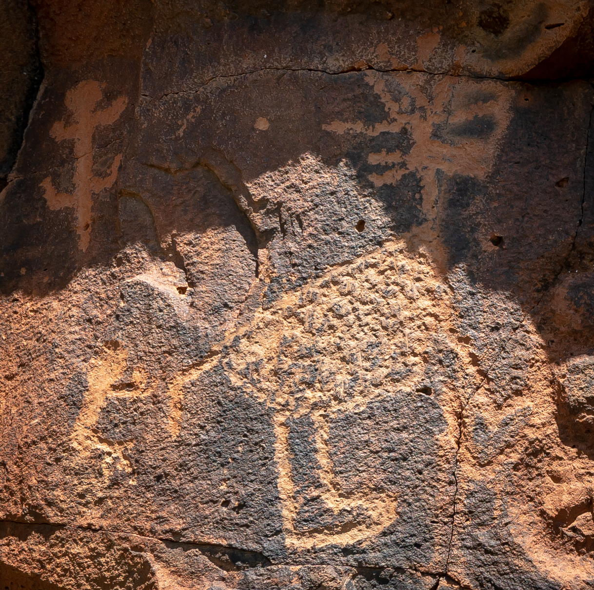 Petroglyphs at Cherry Creek