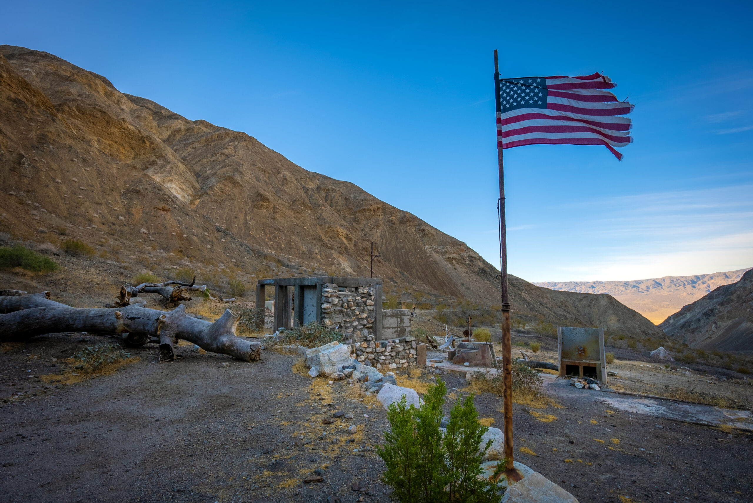The Ghost Town of Ballarat, California